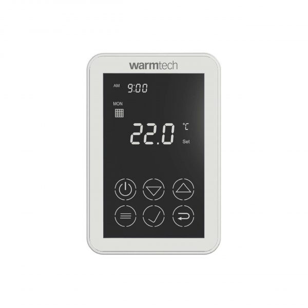 W3115DTAU - Dual Touch Programmable Thermostat (White)