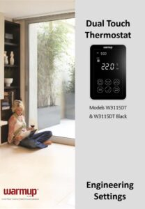 Engineering settings2 Dual thermostat